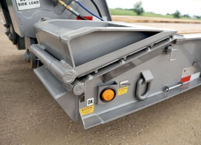TKHDG-C Hydraulic Detachable Gooseneck