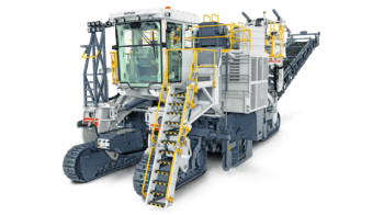 Wirtgen 4200SMi hard rock