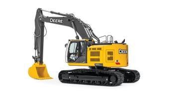 John Deere 345G LC