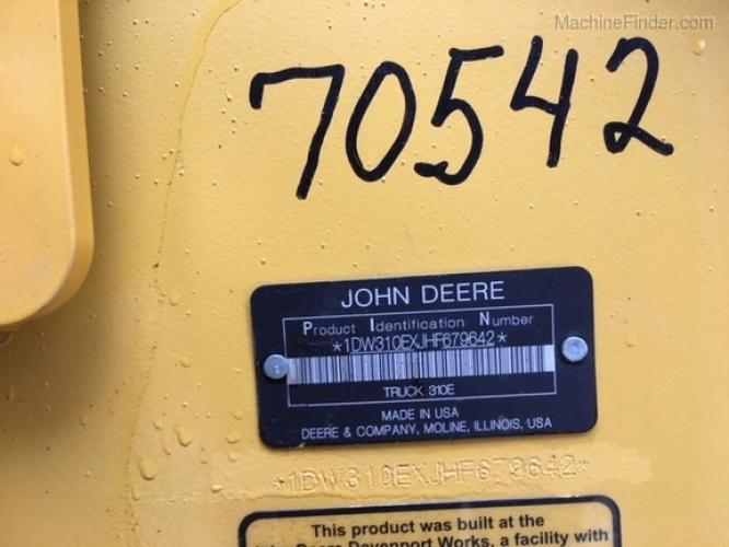 John Deere 310E