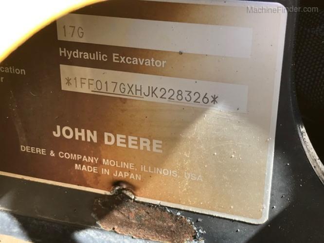 John Deere 17G