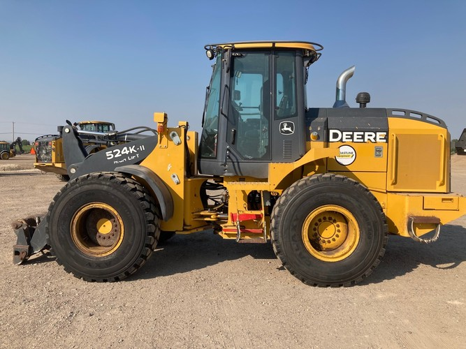 John Deere 524K