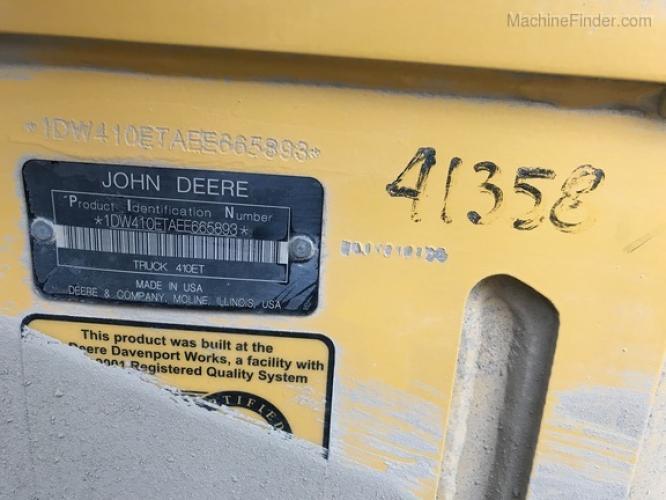 John Deere 410E