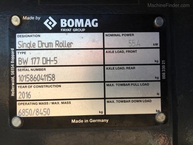 Bomag BW177DH-5