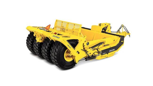 2112DC Carry-All Scraper
