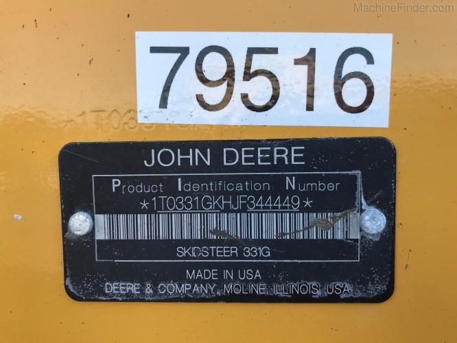 John Deere 331G