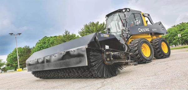 John Deere Brooms